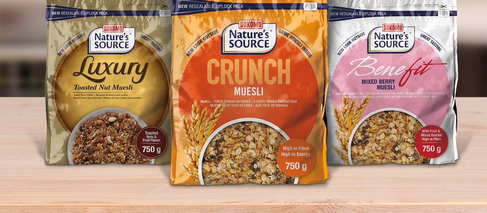 Natures Source muesli